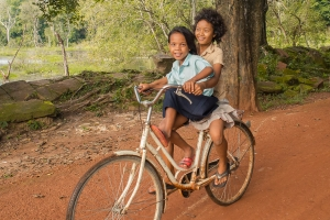 Fahrradtour   Kambodscha