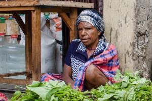 Marktfrau   Papua