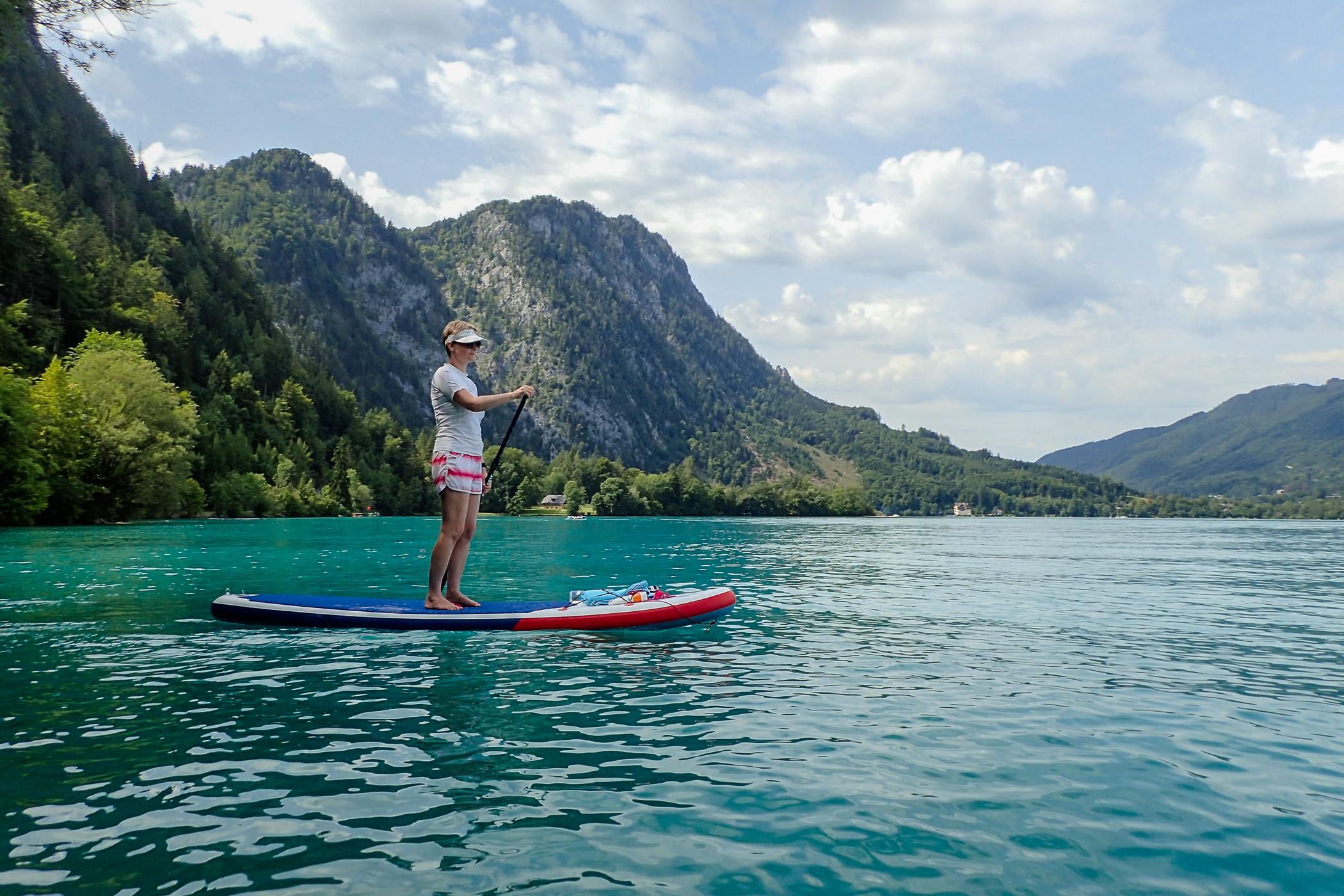 Bach hinauf nicht deinen paddle